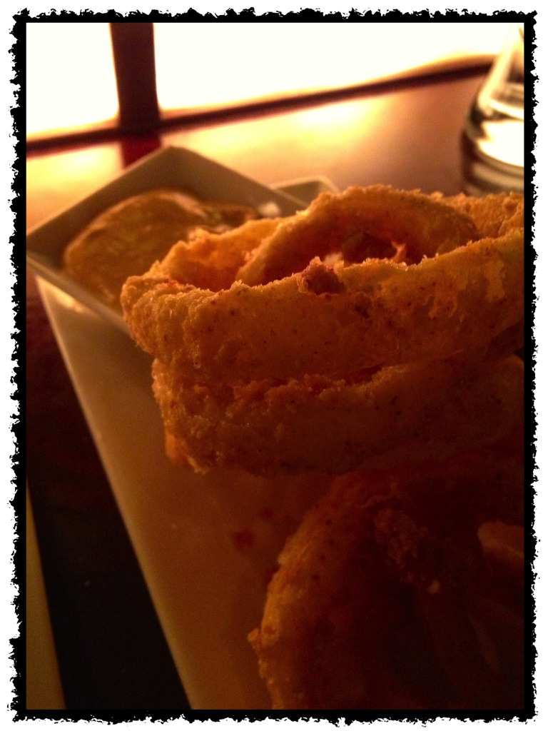 Onion rings.  Just because.